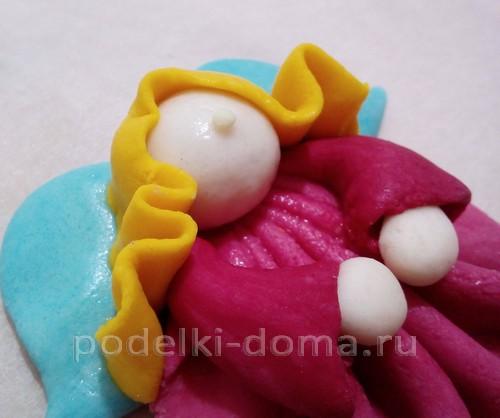 Елочные игрушки из соленого теста