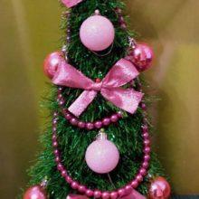Новогодняя елочка (вязание крючком)