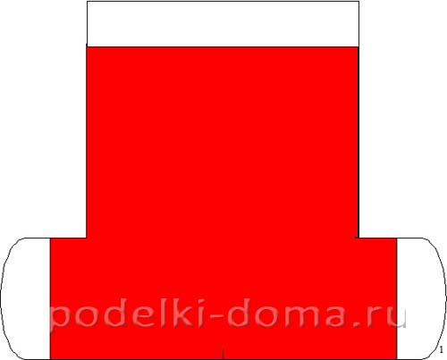 novogodny sapozhokdlya podarka  kryuchkom2