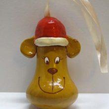 Обезьянка (поделка из лампочки)