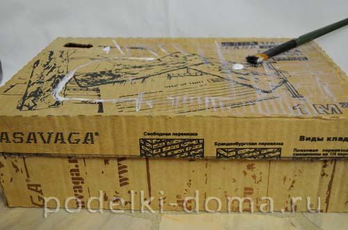rukodelnaya shkatulka iz korobki5