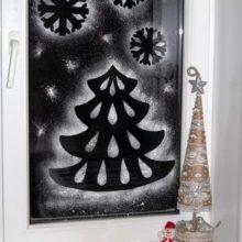 «Новогодняя сказка на окне»
