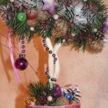 Топиарий — бонсай «Рождественский день»