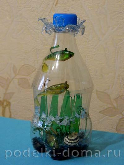 Поделки из пластиковых бутылок своими руками для дома 29