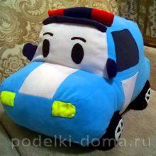 Мягкая игрушка «Машинка» (мастер-класс по шитью с выкройкой)