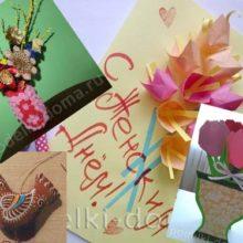 Подарки к 8 Марта и Масленице своими руками
