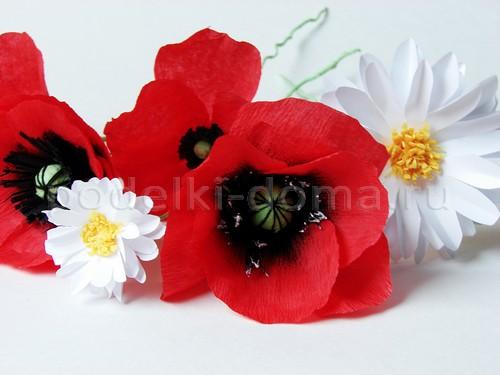 Цветы из бумаги своими руками крокусы фото 429