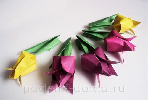 tulpany origami24