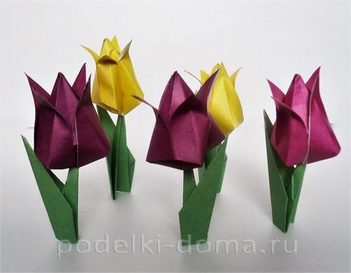 tulpany origami26