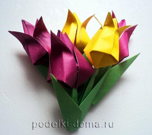tulpany origami27