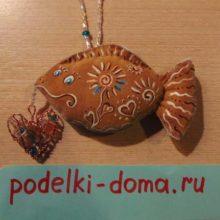 Мастер-класс: валентинка «Влюблённая рыбка»