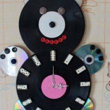 Часы «Умка» из пластинок и дисков