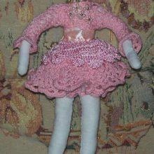 Как своими руками сшить куклу-балерину