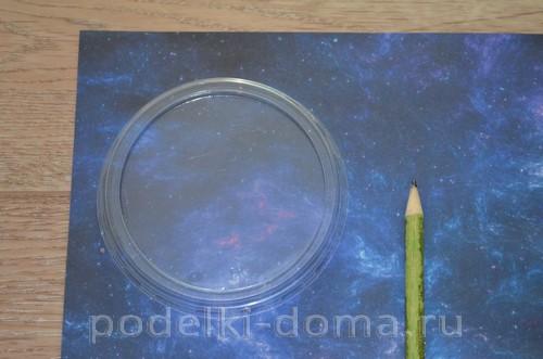 магнит космос пластилин01