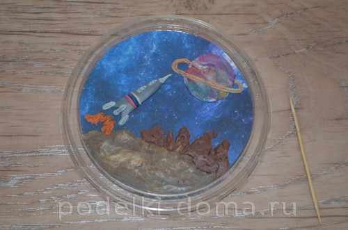 магнит космос пластилин18