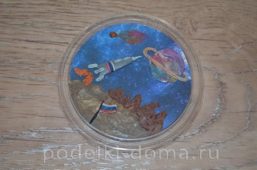магнит космос пластилин20