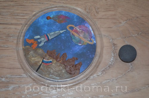 магнит космос пластилин21