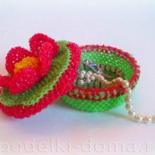Шкатулка из резинок (мастер-класс по плетению)