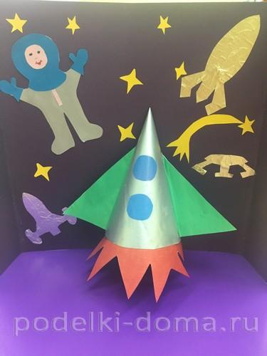Поделки к Дню космонавтики