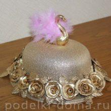 Шляпа с цветами на 8 марта