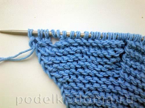 голубая кофточка для мальчика11