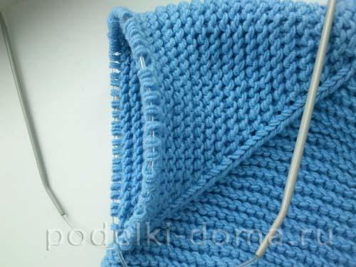 голубая кофточка для мальчика15