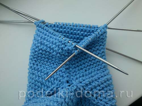 голубая кофточка для мальчика22