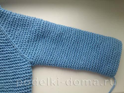голубая кофточка для мальчика24