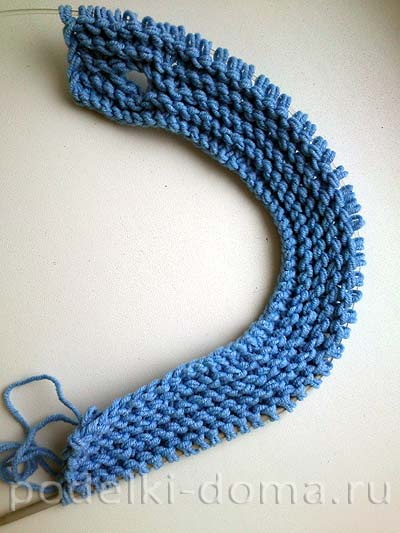 голубая кофточка для мальчика3