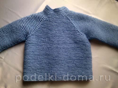 голубая кофточка для мальчика33