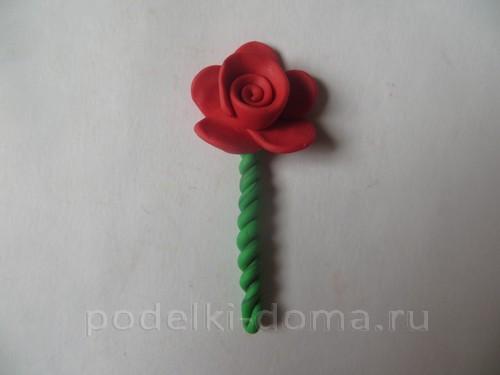 roza iz plastilina06