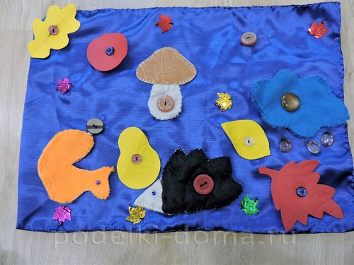Дидактическое пособие для дошкольников старшей группы по теме «Осень»