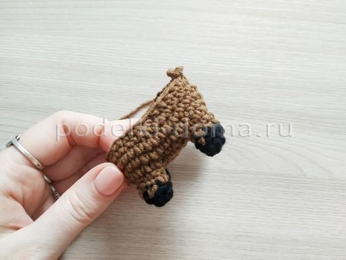 """Мягкая игрушка """"Бычок"""" (вязание спицами и крючком)"""