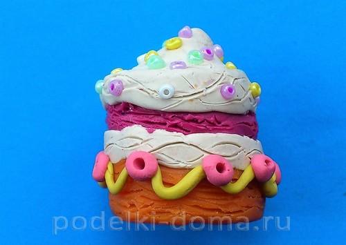 торт из пластилина06