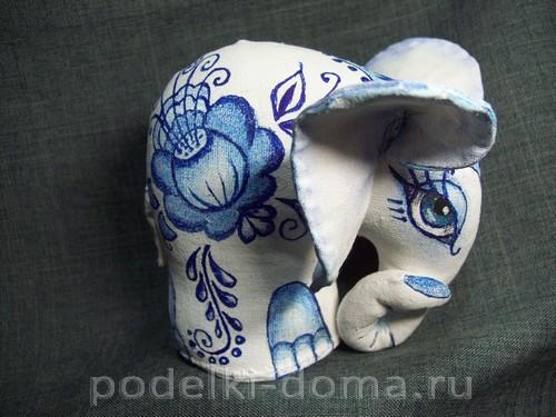 myagkaya igrushka slon pod gzhel01