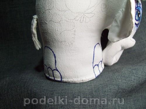 myagkaya igrushka slon pod gzhel20