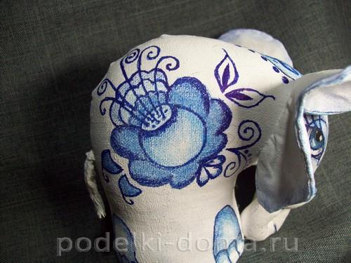 myagkaya igrushka slon pod gzhel27