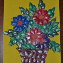 «Картина из тыквенных семечек»