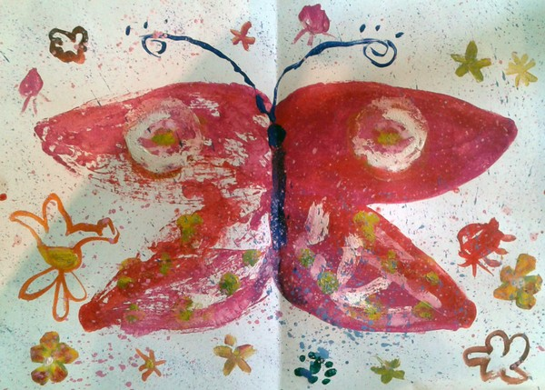 Бабочка. Майя Запуниди 5 лет