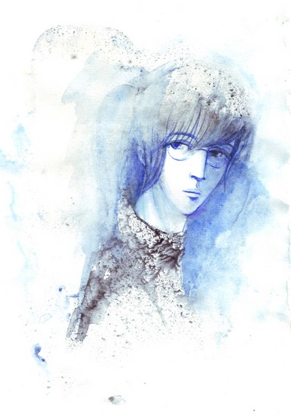 Портрет юного художника. Л.Зымалева