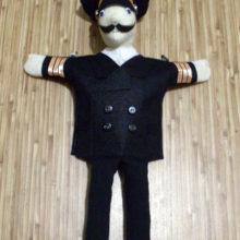 Кукла на руку «Капитан дальнего плавания»