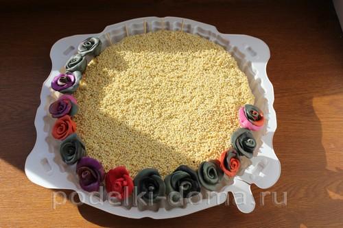 novoodniy tort podelka solenoe testo16