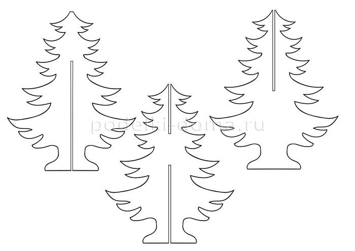 Елки и елочки своими руками - больше 100 вариантов