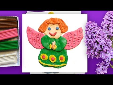 ангел пластилин6