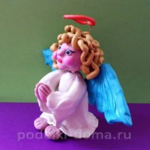 Ангел из пластилина