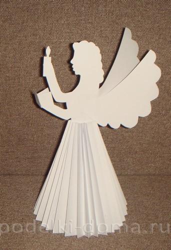 belye-angely-iz-bumagi34 Ангелы и ангелочки своими руками - фото и мастер-классы поделок