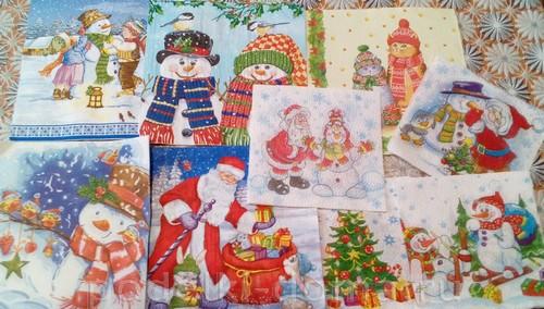 Новогодние игрушки из картона