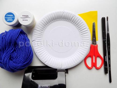 Поделки из бумажных тарелок