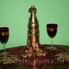Новогодняя бутыль