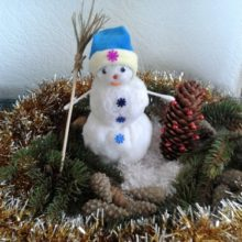 Снеговичок-лесовичок
